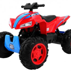ATV electric pentru copii QUAD SPORT RUN 4X4 (2888) Rosu