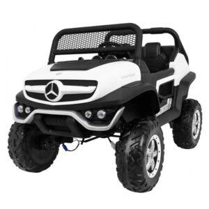 masinuta-electrica-pentru-copii-mercedes-benz-unimog-4x4-alb