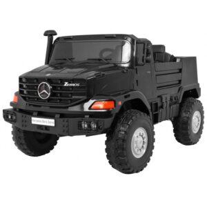 Masinuta electrica pentru copii cu 2 locuri SUV Mercedes Benz Zetros (0916) Negru