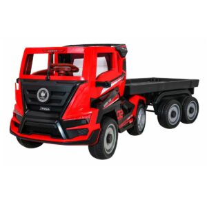 masinuta-electrica-pentru-copii-camion-truck-cu-remorca-2020-rosu