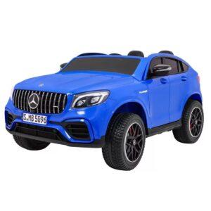 masinuta-electrica-pentru-copii-cu-2-locuri-mercedes-amg-glc-63s-4x4-cu-ecran-lcd-xmx608-albastru