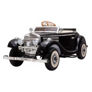 Masinuta-electrica-pentru-copii-Mercedes-Retro-540K-Negru