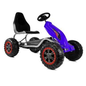 Kart-cu-pedale-pentru-copii-cu-roti-EVA-Strong