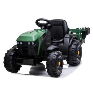tractor-electric-pentru-copii-cu-remorca-titanium-roti-eva-0925-verde