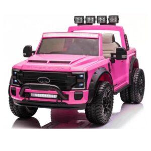 masinuta-electrica-pentru-copii-ford-super-duty-xxl-cu-2-locuri-4x4-2088-roz